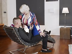 Personal business with a younger bull as follows take charge MILF