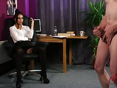Amateur man takes off his clothes to masturbate be expeditious for Sarah Owen