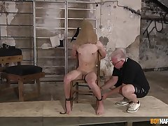 Dom Sebastian Kane reminds twink Danny Bianchi who is the VIP