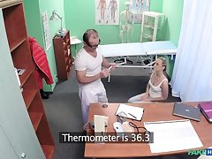 Hot kermis loves the doctors muscles and smooth talking charm