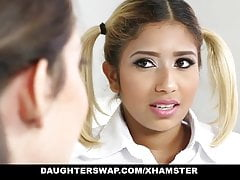 daughterSwap - Naughty School Girls Fucked By Old daddy