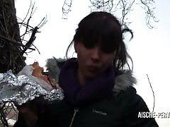 Public Anal gefickt fuer Sperma Doener Kebab