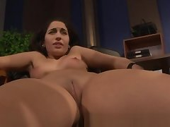 LEZDOM domina clamping subs pussy