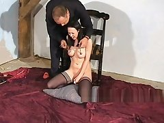 Emilys bizarre anal castigation and tit torture of suffering