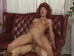 Redhead likes it in the ass