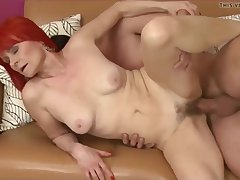 Experienced Lady With an increment of Her New Boytoy Hq - handjob