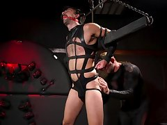Maledom in brutal gay scenes for the gay slave