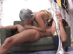 Hot JAV porn featuring outgoing Japanese minx Nagai Reina