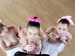 Blonde teen small jugs hd xxx Ballerinas