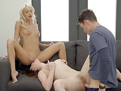 Emma Hix - Big Nail Costumed Threesome