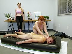 Lauren Phillips is a advise of nuru masseuse, with the addition of this guy reaped the benefits