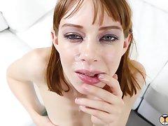 Anal Wrecking Petite Redhead Alexa Heavenly body