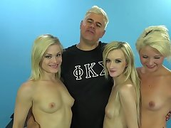 Group sexual connection party between one guy plus team a few cock hungry sluts